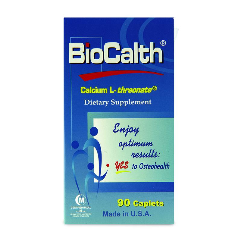Biocalth Calcium L-Threonata Dietary Supplement, 90 caplets