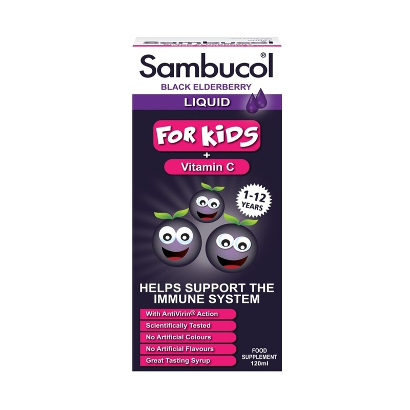 Sambucol Kids Formula (UK Version), 120 ml.