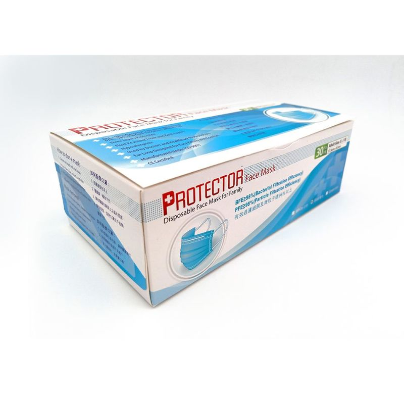 Protector Disposable Face Mask 30s