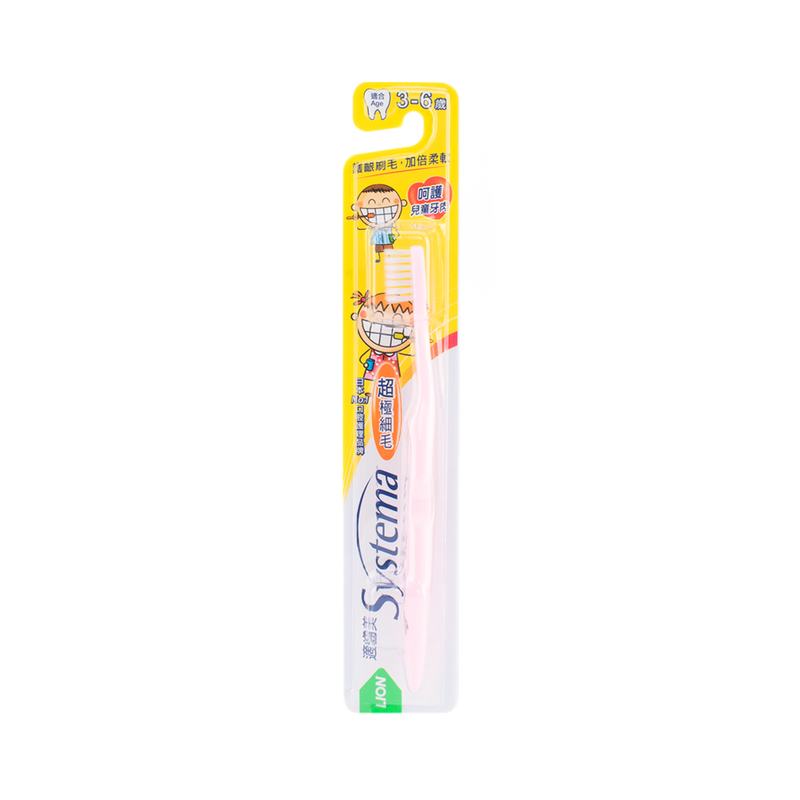 Systema Kids Toothbrush Age3-6