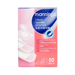 Mannings Clear Assor Plaster-N 50pcs