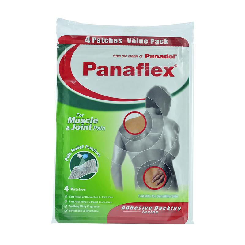 Panadol Panaflex Pain Relief Patches, 4pcs