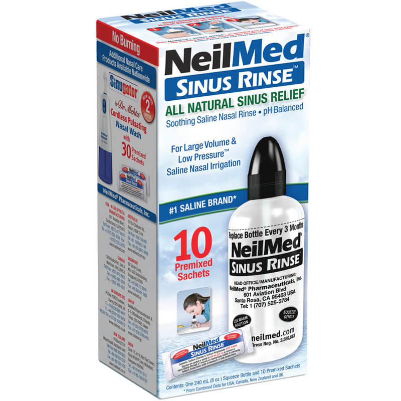 NeilMed Sinus Rinse, 10 sachets