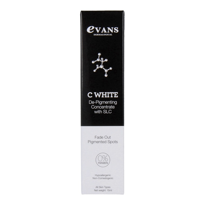 Evans C White Depigmenting Concentrate, 15ml
