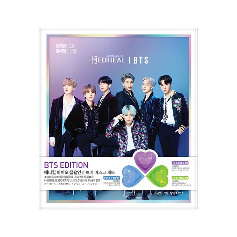 Mediheal Bio Capsulin Love Me Mask Set - BTS Global Edition
