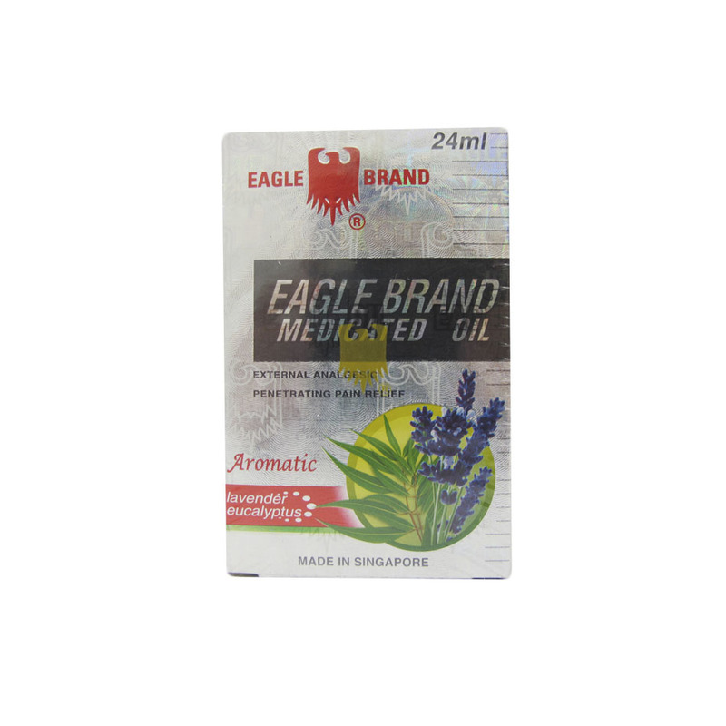 Eagle Medicated Oil Aromatic, 24ml