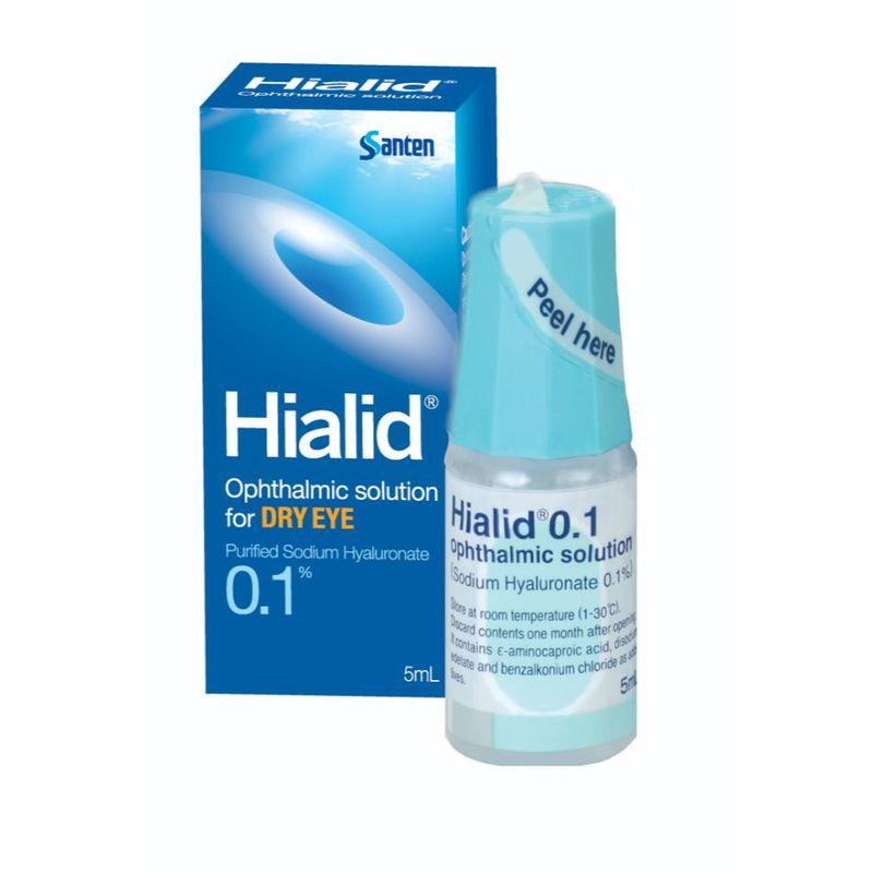 Santen Hialid, 0.1 5ml