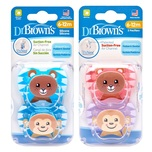 Dr.Brown's Prevent Pacifier (6-12M)X2pcs