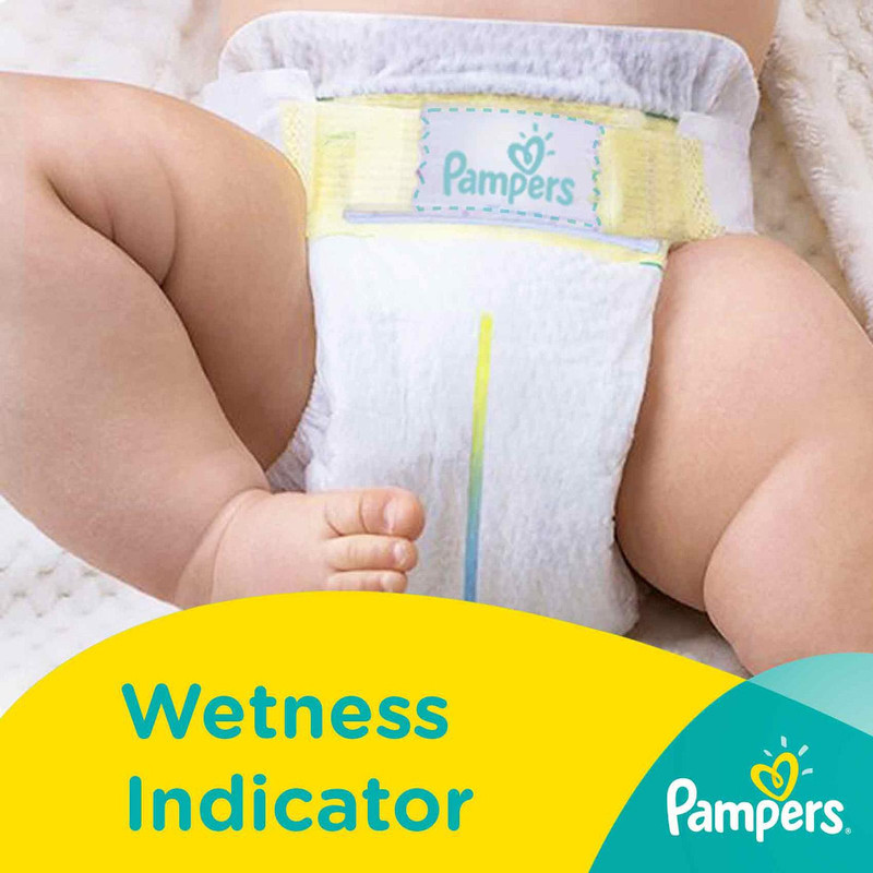 Pampers Baby Dry Diapers Tapes New Born, 90pcs