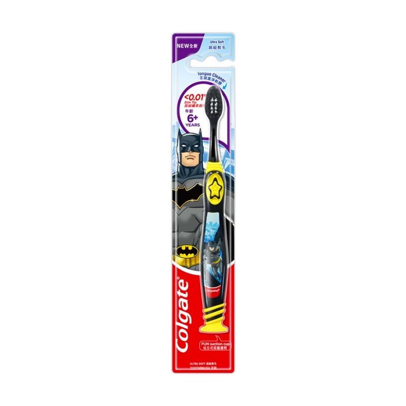 Colgate Batman Toothbrush for 6+yo Kids 1pcs