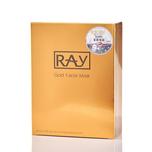 Ray Facial Mask(Gold) 10pcs