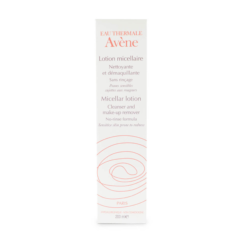 Avene Micellar Lotion Cleanser and Makeup Remover, 200ml