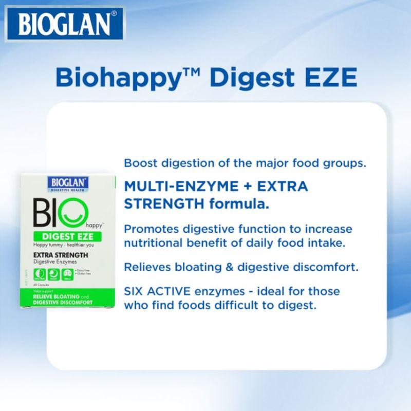 Bioglan Digest Eze Digestive Enzymes, 40 capsules