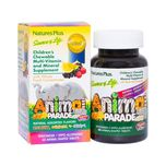 Natures Plus Animal Parade Children's Chewable Multi-Vitamin & Mineral Supplement, 60 tablets