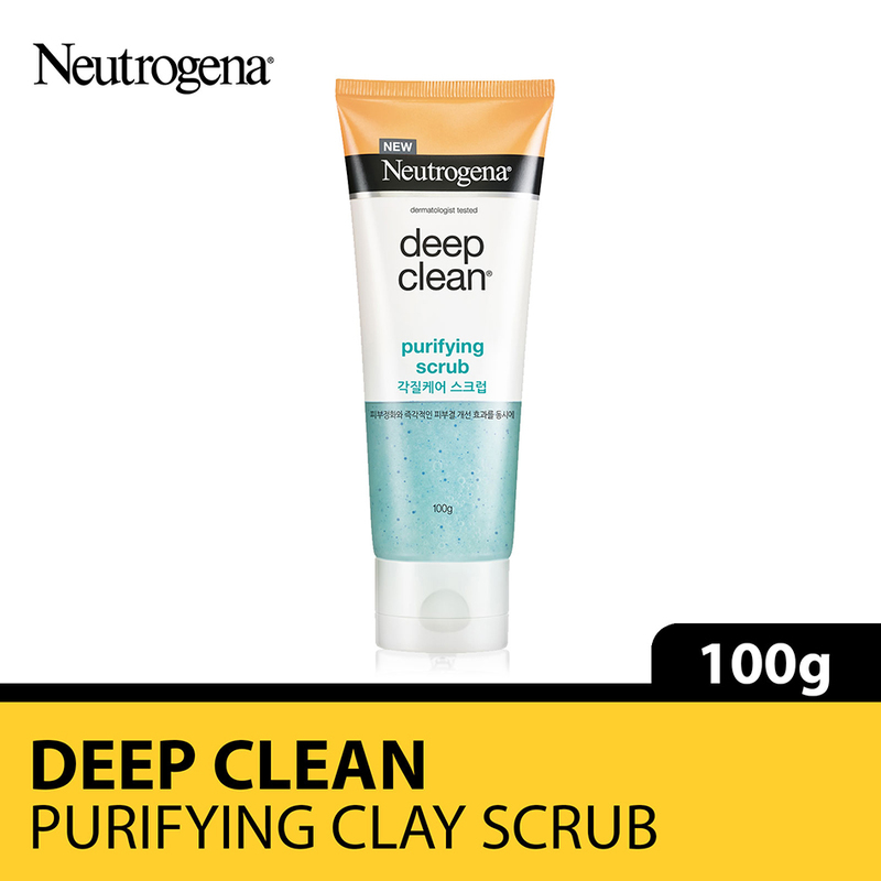 Neutrogena Deep Clean Purifying Scrub, 100g
