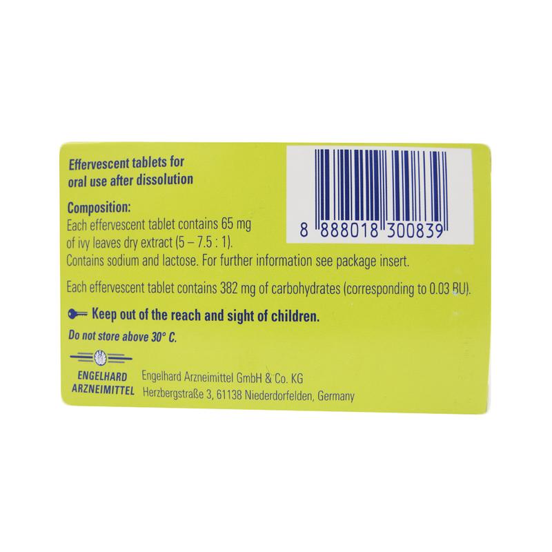 Prospan Effervescent Cough Tablets, 10 tablets