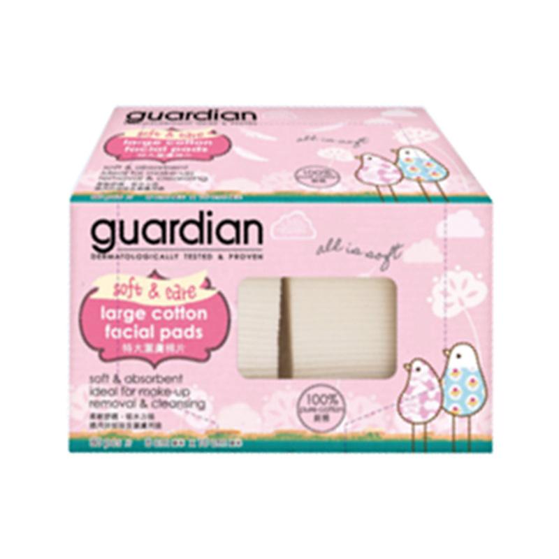 Guardian Large Cotton Facial Pads, 80pcs