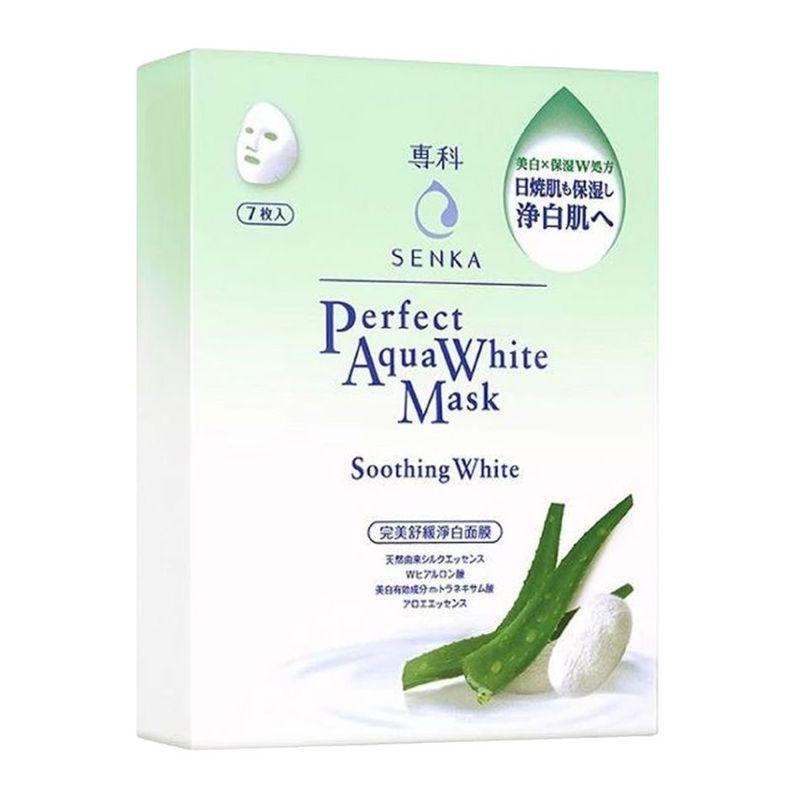 Senka Aqua White Mask Soothing White 7P Box