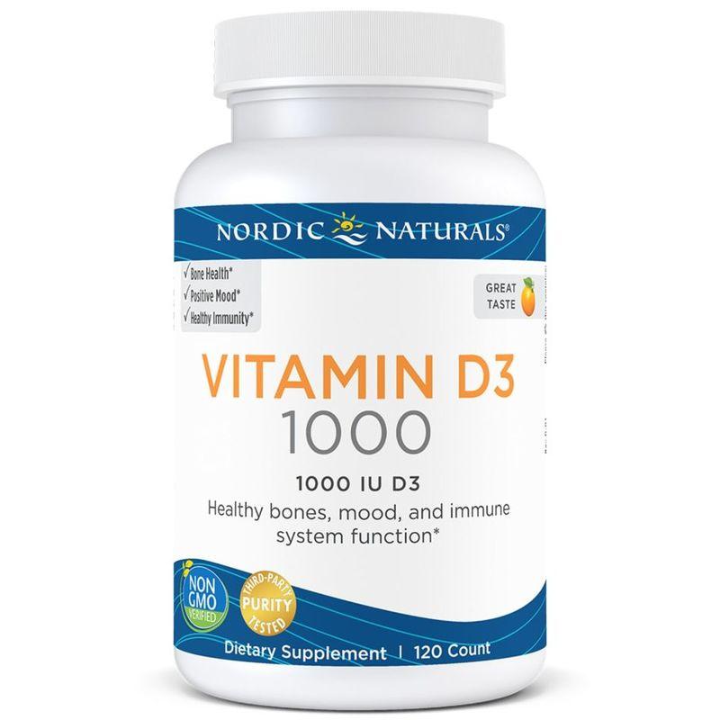 Nordic Naturals Vitamin D3 1000 120 Soft Gels