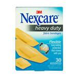 Nexcare Heavy Duty Fabric Bandages, 30pcs