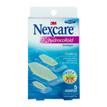 Nexcare Hydrocolloid Bandages Assorted, 5pcs