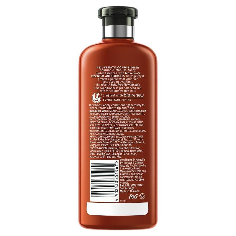Herbal Essences REJUVENATE Bourbon and Manuka Honey Shampoo, 400ml