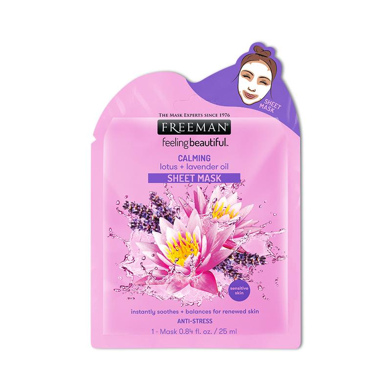 Freeman Calming Lotus + Lavender Oil Sheet Mask