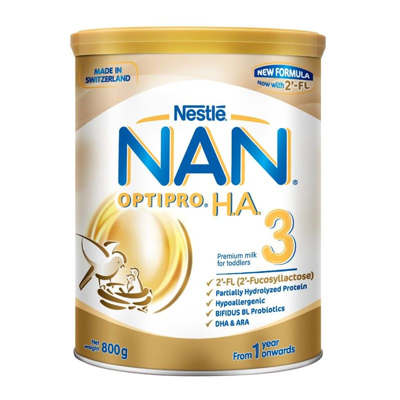 Nestle NAN Optipro H.A. Growing Up Milk Stage 3, 800g