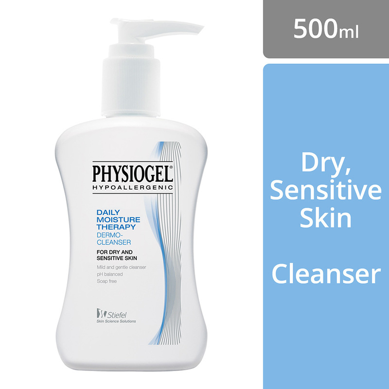 Physiogel Daily Moisture Therapy Dermo-Cleanser, 500ml