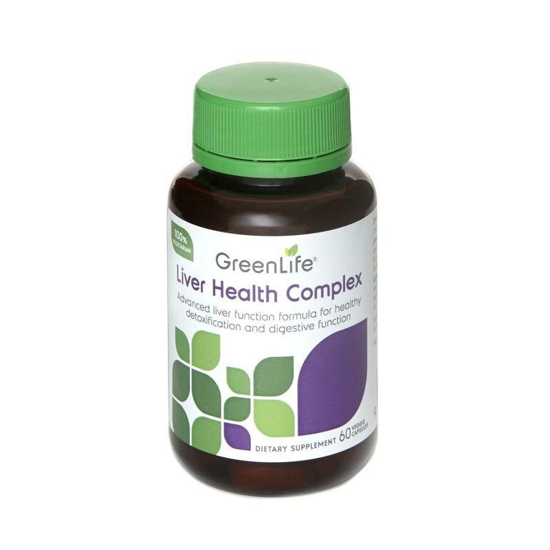 GreenLife Liver Health Complex, 60 capsules