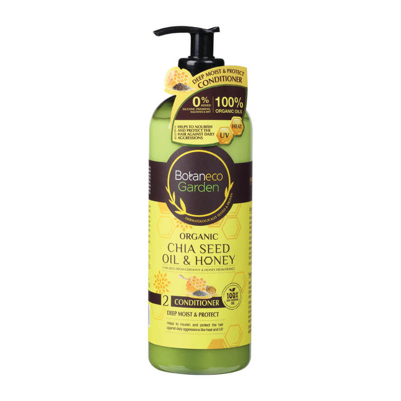 Botaneco Garden Organic Chia Seed and Honey Conditioner, 500ml