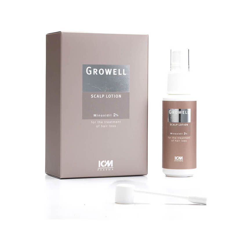 ICM Growell 2% Scalp Lotion, 60ml