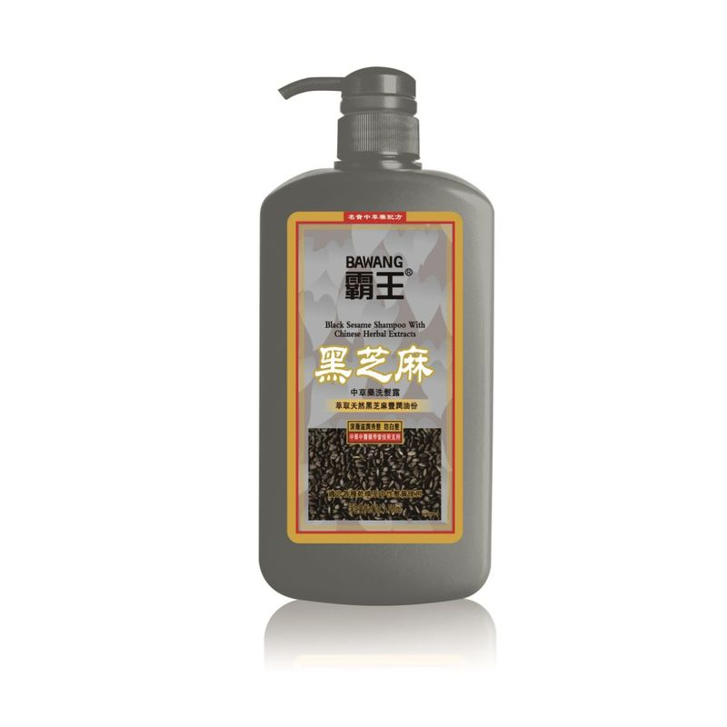 Bawang Black Sesame Shampoo With Chinese Herbal Extracts 750mL