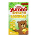 Yummi Bears Calcium + Vitamin D3, 90s