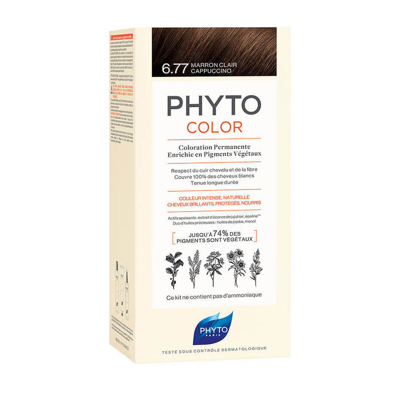 Phyto Color 6.77 Light Brown Cappuccino