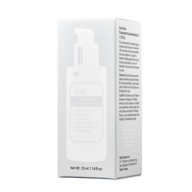 Dear, Klairs Fundamental Eye Awakening Gel, 35ml