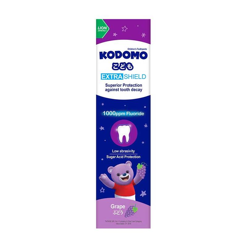 Kodomo Extra Shield Child Tp 65g Grape