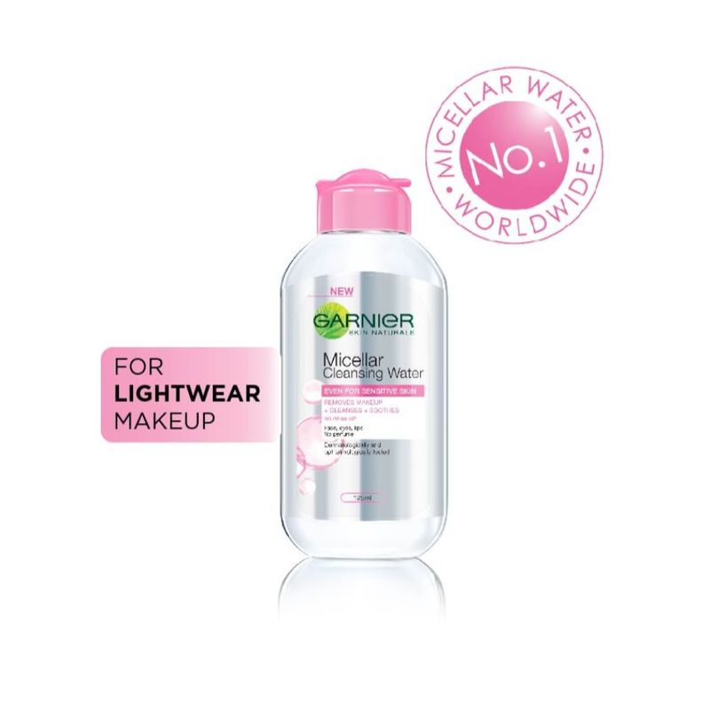 Garnier Skin Naturals Micellar Cleansing Water (For Sensitive Skin) 125ml