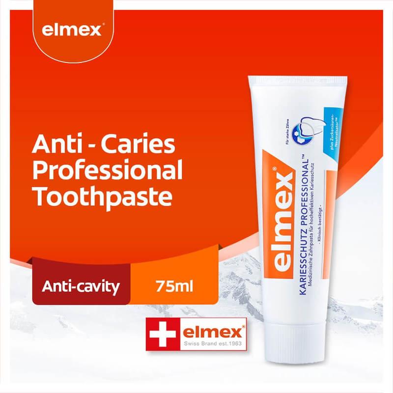 Elmex Anti-Caries Toothpaste 75ml