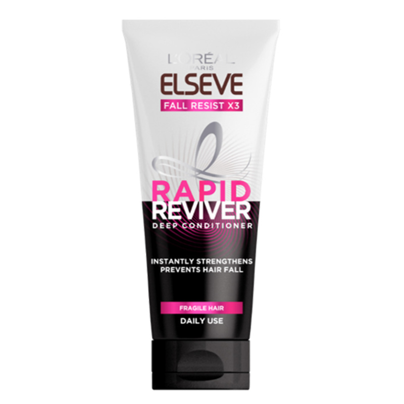 L'Oreal Elseve Rapid Reviver Fall Resist X3 Deep Conditioner, 150ml