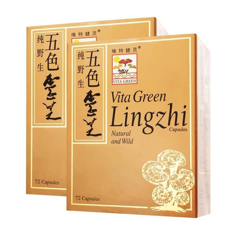 Vita Green Lingzhi Capsules Twin Pack, 2x72 capsules