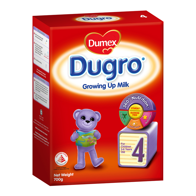 Dumex Dugro Stage 4 Growing Up Kid Milk Formula, 700g