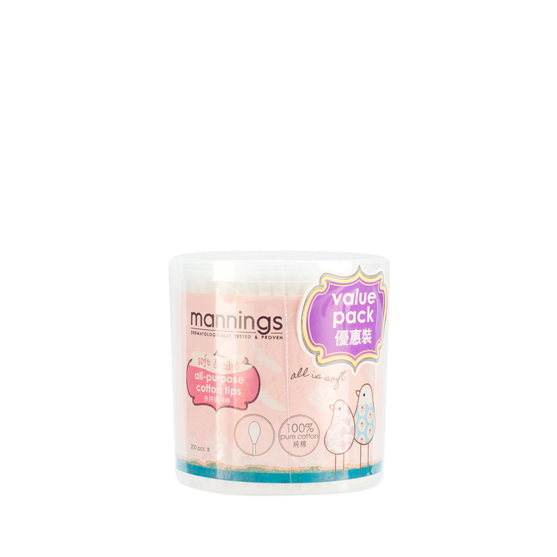 Mannings Cotton Tip F/Refill