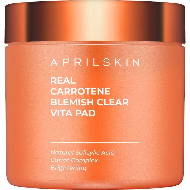 Aprilskin Real Carrotene Blemish Clear Vita Pad