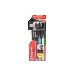 Colgate Slimsoft Charcoal Toothbrush Tri Pack 3pcs