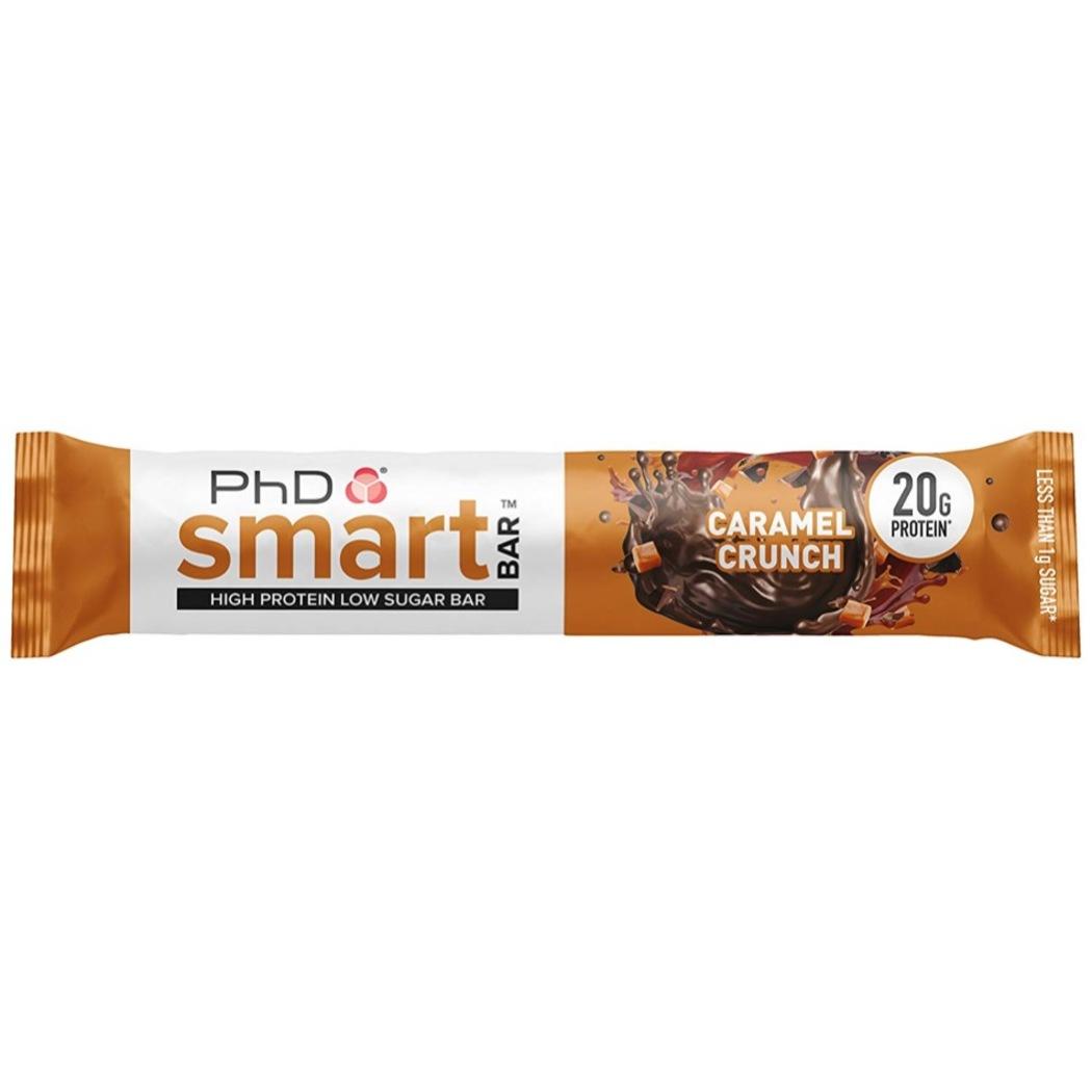 Phd Nutrition Smart Protein Bar Caramel Crunch 64g Guardian Singapore