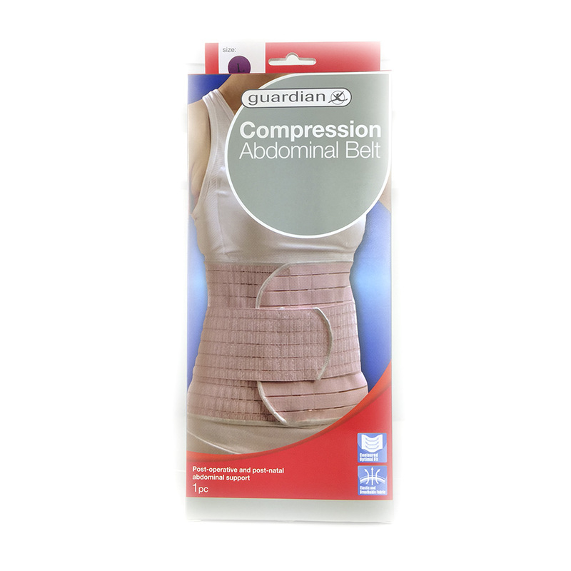 Guardian Compression Abdominal Belt Large 1pc