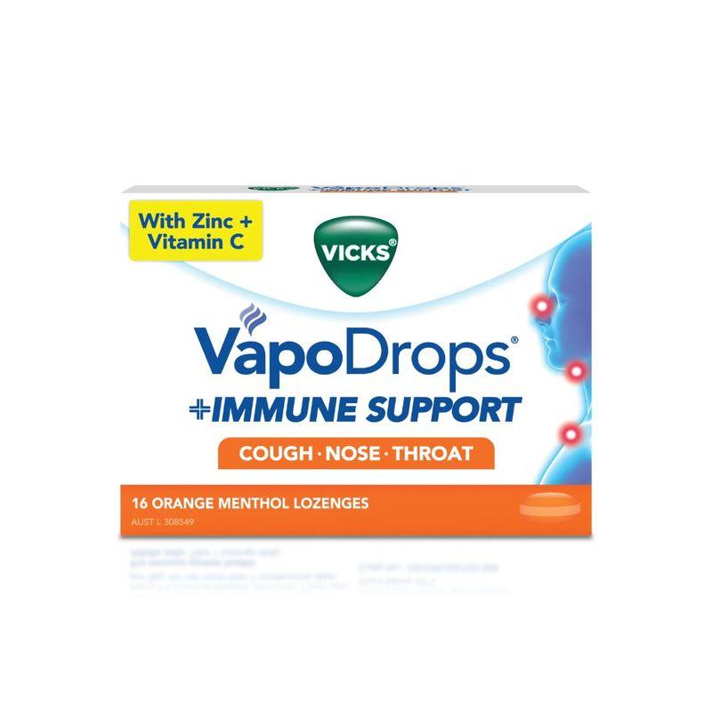 Vicks Immune Support Orange, 16pcs