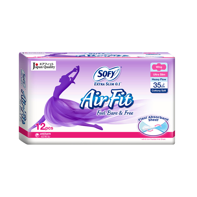 Sofy Body Fit Night Extra Slim 0.1 35cm, 12s