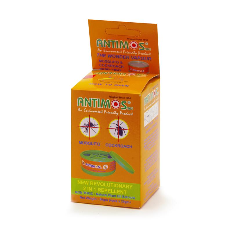 Antimos 2-In-1 Repellent, 4pcs